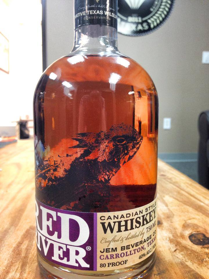 Tx Spirits Geek Red River Canadian Style Whiskey